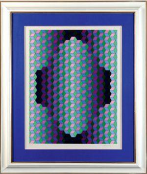 Victor Vasarely - Ground Effect